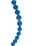 Blue Jumbo Thai Anal Beads