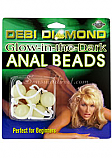 Debi Diamond`s Glow/dark Anal Beads